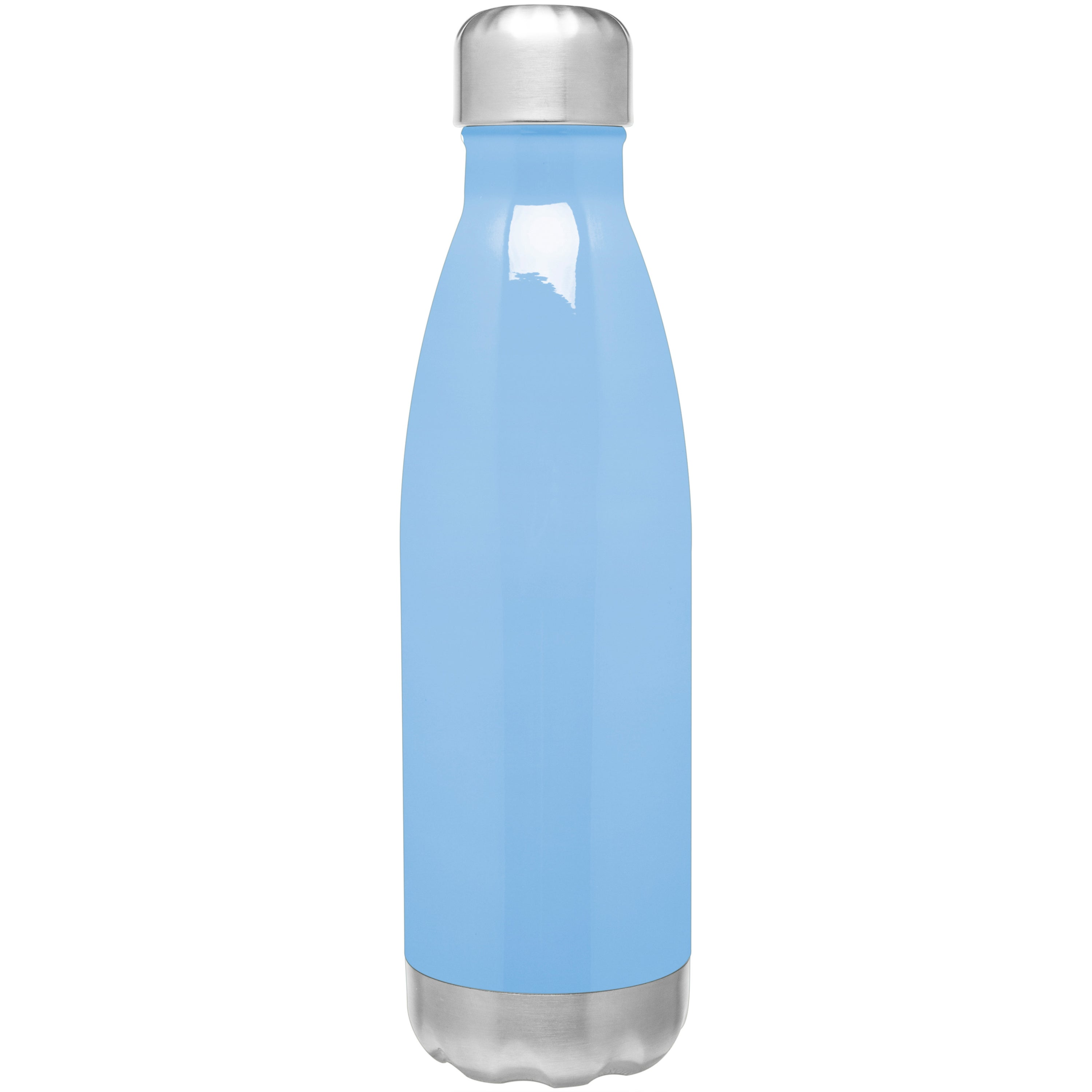 Hot//Cold Double Wall Vacuum Thermal Bottle H2GO Force Stainless Steel 17 oz