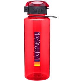 Advertising h2go Pismo Water Bottle