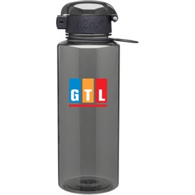 h2go Pismo Water Bottle Printed with Your Logo