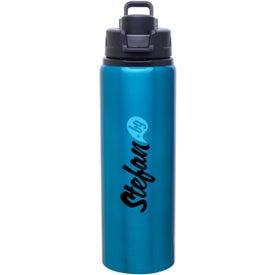 Branded h2go Surge Aluminum Water Bottle
