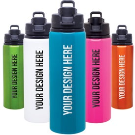 Imprinted h2go Surge Aluminum Water Bottle