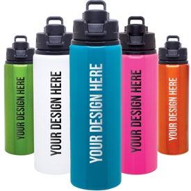 Imprinted h2go Surge Aluminum Water Bottle
