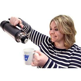 Promotional Hammered Vacuum Bottle