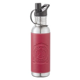 Hampton Stainless Bottle with Wrap for Your Church