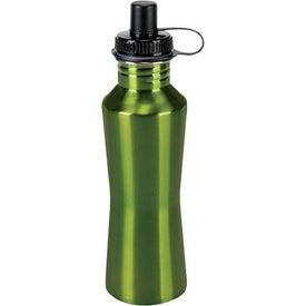 Imprinted Stainless Steel Hana Bottle