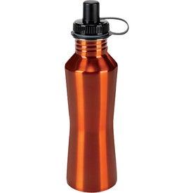 Monogrammed Stainless Steel Hana Bottle
