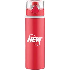 Branded Hermosa Aluminum Bottle