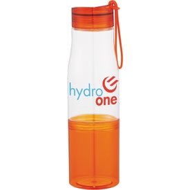 Printed Hide-Away Tritan Sports Bottle