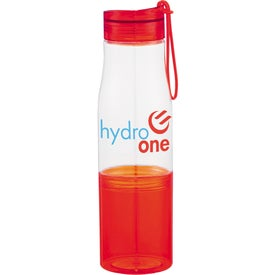 Hide-Away Tritan Sports Bottle Imprinted with Your Logo
