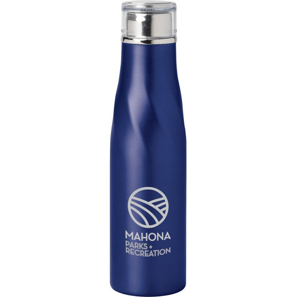 Blue Hugo Vacuum Insulated Bottle
