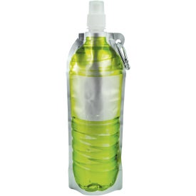 Monogrammed Hydra Flat Bottle