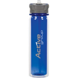 Imprinted Hydrate Double Wall Tritan Bottle