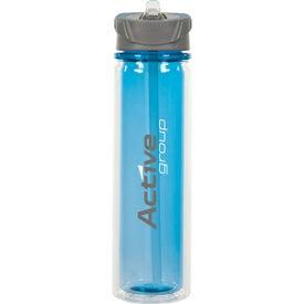 Printed Hydrate Double Wall Tritan Bottle