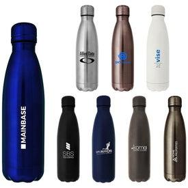 Hydro-Soul Copper Lining Water Bottle (17 Oz.)