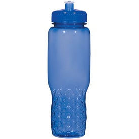 Advertising Hydroclean Sports Bottle With Groove Grippers