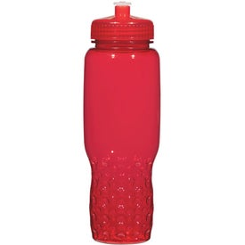 Personalized Hydroclean Sports Bottle With Groove Grippers