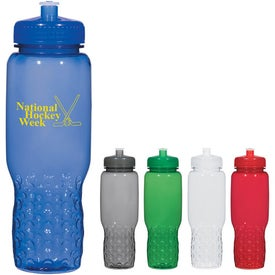 Hydroclean Sports Bottle With Groove Grippers (32 Oz.)