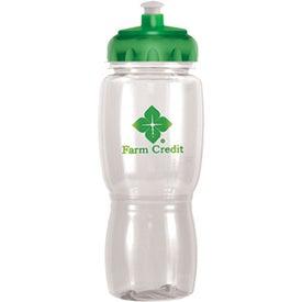Imprinted Ice Poly-Saver Mate Bottle - BPA Free