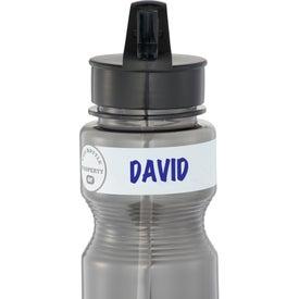 Monogrammed ID Grip BPA Free Sport Bottle