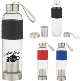Infuser Glass Bottle (18 oz.)