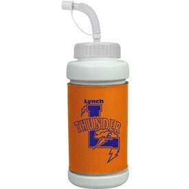 Branded Insulated Bottle - Straw Lid