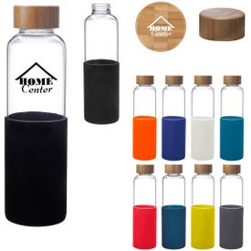 James Glass Water Bottle