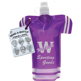 Jersey Bend-A-Bottle with Your Logo
