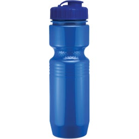 Advertising Jogger Bottle with Flip Top Lid