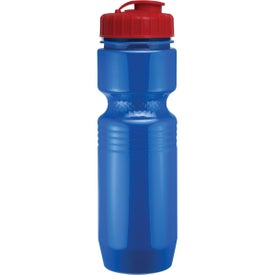 Jogger Bottle with Flip Top Lid with Your Slogan