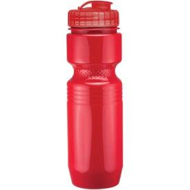 Monogrammed Jogger Bottle with Flip Top Lid
