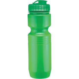 Jogger Bottle with Flip Top Lid Printed with Your Logo