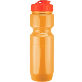 Printed Jogger Bottle with Flip Top Lid