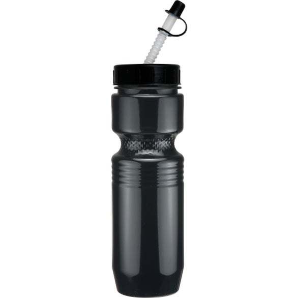 Jogger Bottle with Straw Tip Lid
