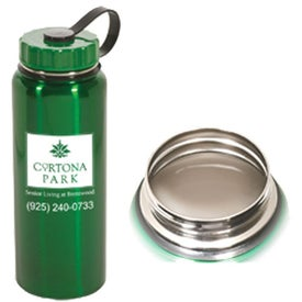 Jumbo Stainless Bottle Imprinted with Your Logo