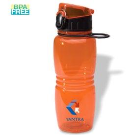 Branded Junior Flip-Top Bottle
