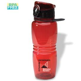 Junior Flip-Top Bottle for Marketing