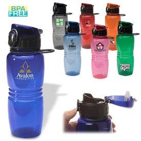 Junior Flip-Top Bottle with Your Logo