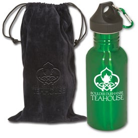Junior Stainless Bottle with Pouch for your School