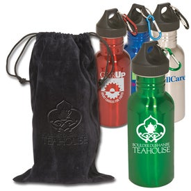 Promotional Junior Stainless Bottle with Pouch