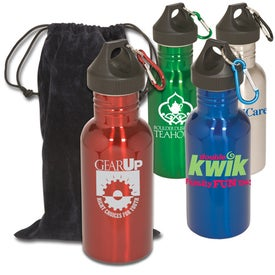 Junior Stainless Bottle with Pouch for Customization