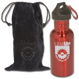 Logo Junior Stainless Bottle with Pouch