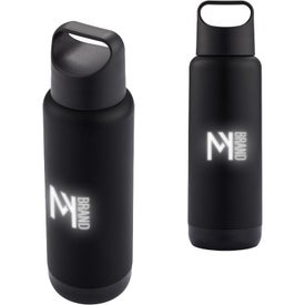 LED Light Up Your Logo Water Bottle (16 Oz.)
