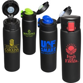 Legacy Black Matte Vacuum Bottle (16 Oz.)
