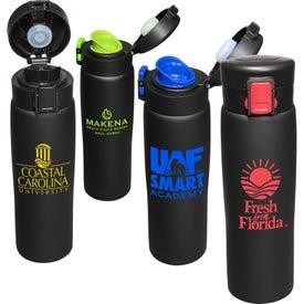 Legacy Black Matte Vacuum Bottle (16 Oz.)