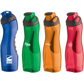 Long-n-Lean Easy-Grip Bottle Imprinted with Your Logo
