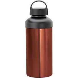Personalized Lucca Aluminum Water Bottle