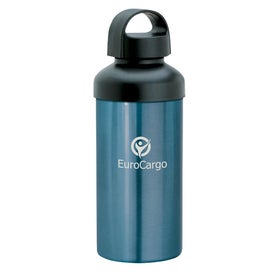 Lucca Aluminum Water Bottle Branded with Your Logo