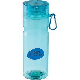 Logo Maui Tritan Sports Bottle