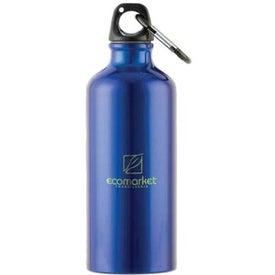 Logo Metalica Aluminum Bottle w/Carabiner