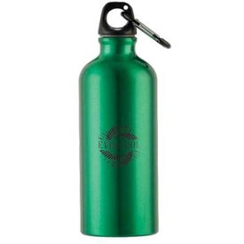 Metalica Aluminum Bottle w/Carabiner (20 Oz.)